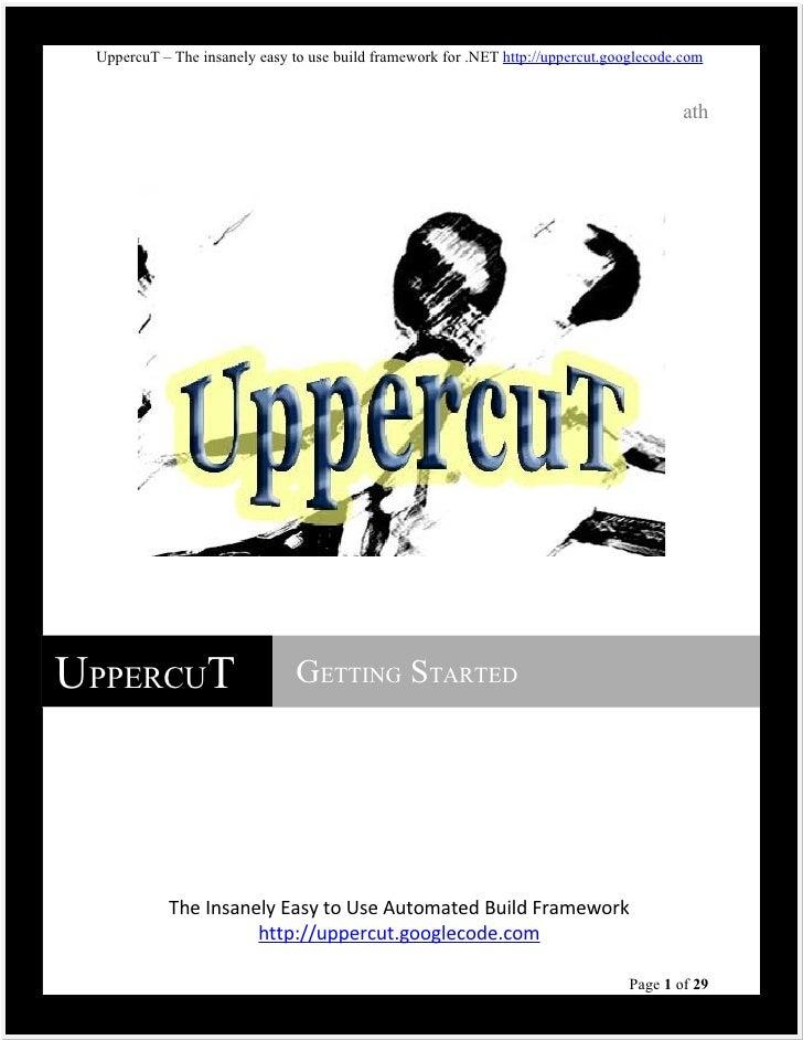 UppercuT - Getting Started