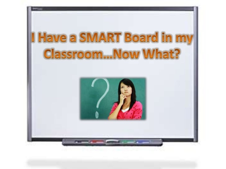 I Have a SMART Board in my Classroom…Now What?<br />