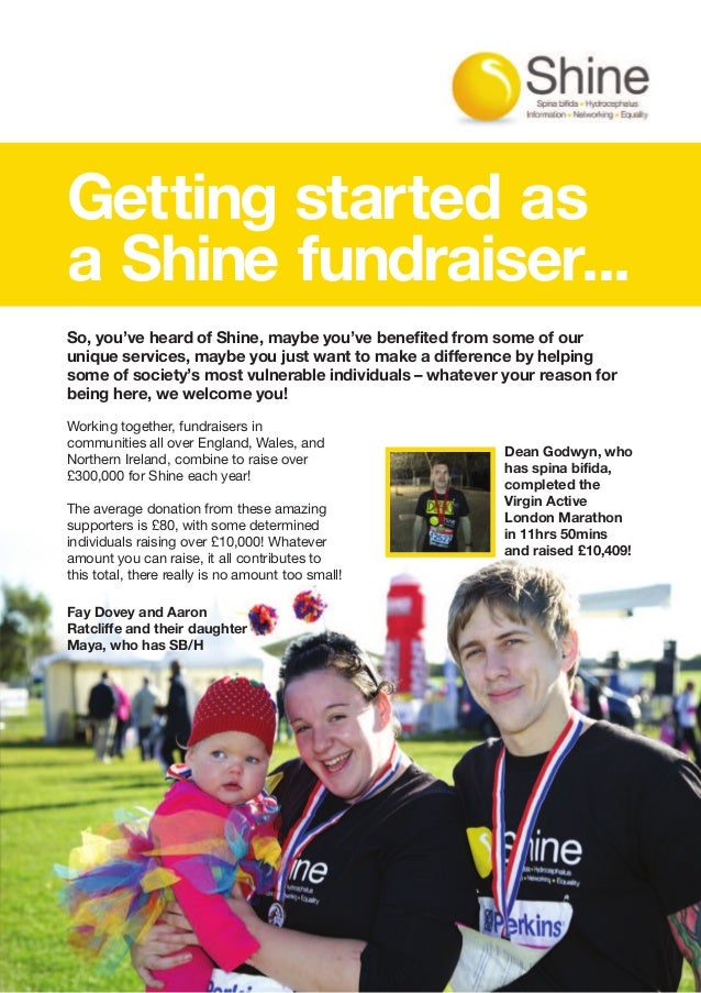 Fundraising for Shine Charity #SpinaBifida #Hydrocephalus