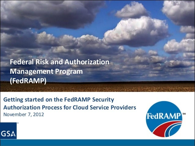 Getting started on fed ramp sec auth for csp