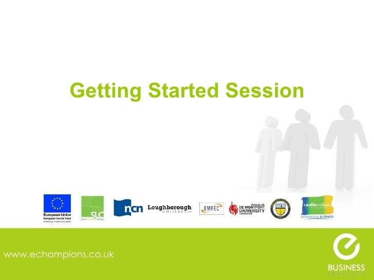 Getting started presentation