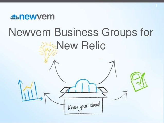 Newvem Business Groups for New Relic 1