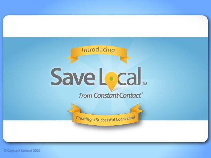 Getting started with save local