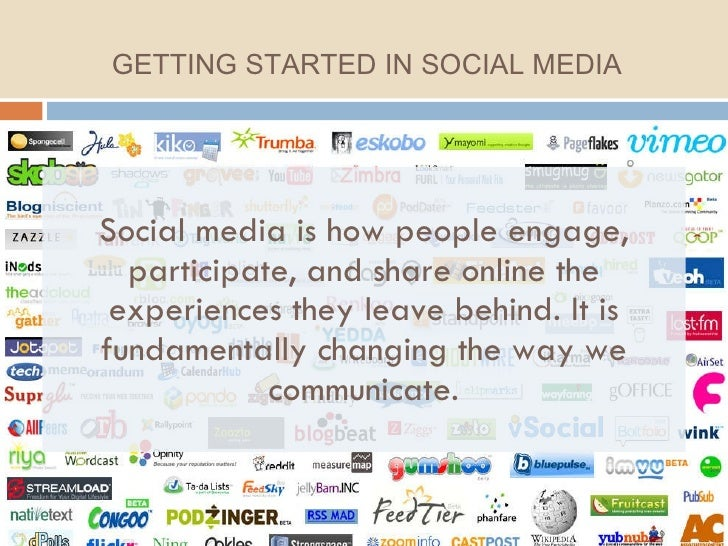 Social media is how people engage, participate, and share online the experiences they leave behind. It is fundamentally ch...