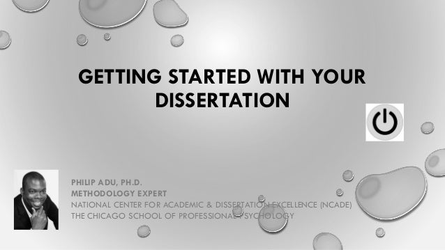 What is the meaning of dissertation work in Phil?