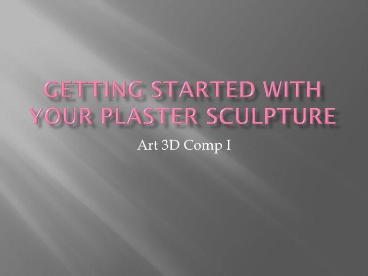 Art 3D Comp I