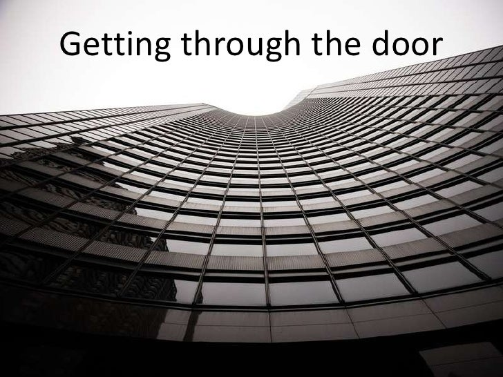 Getting Through The Door2