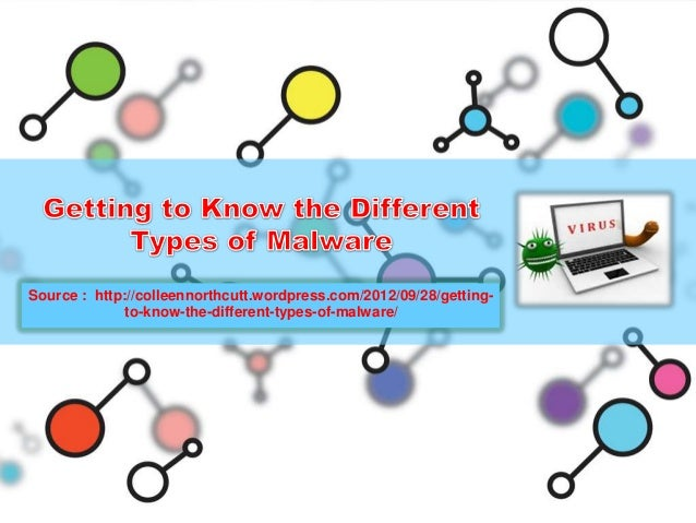 Getting to know the different types of malware