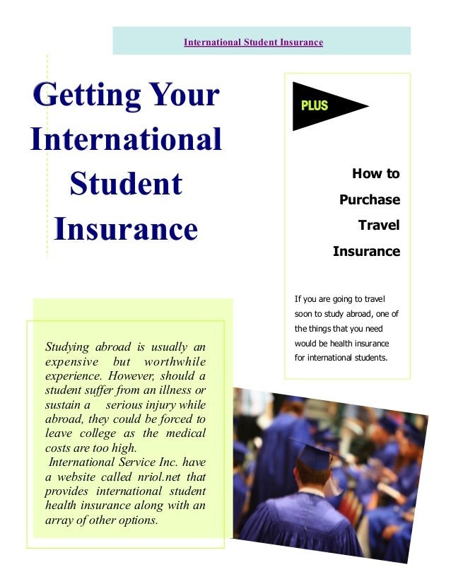 Studying abroad is usually an expensive but worthwhile experience. However, should a student suffer from an illness or sus...