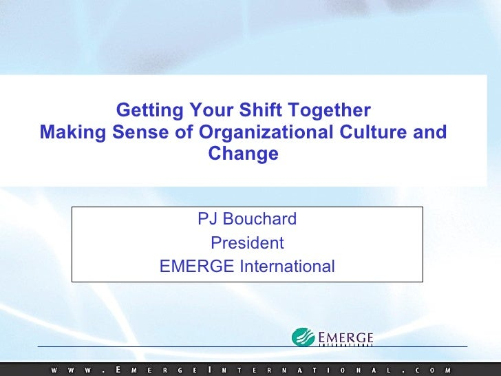 How to Change Your Organization's Culture