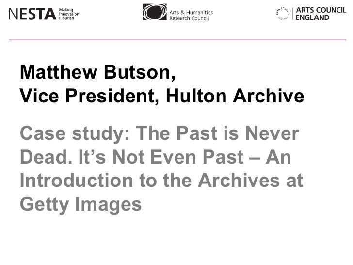 Case study: Archives at Getty Images