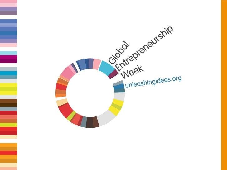 Global Entrepreneur Week - Unleashing Ideas