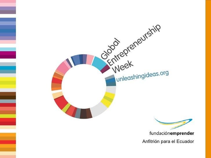 Global Entrepreneurship Week Ecuador 2010 Partners