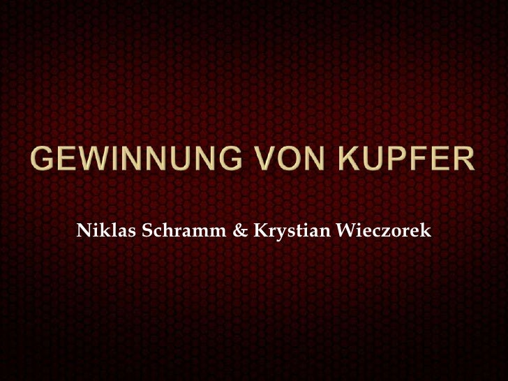 Niklas Schramm & Krystian Wieczorek