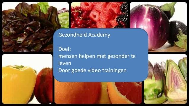 Overzicht Gezondheid Video's uit de Gezondheidsacademy