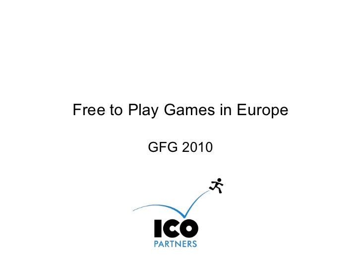 Free to Play Games in Europe April 2010