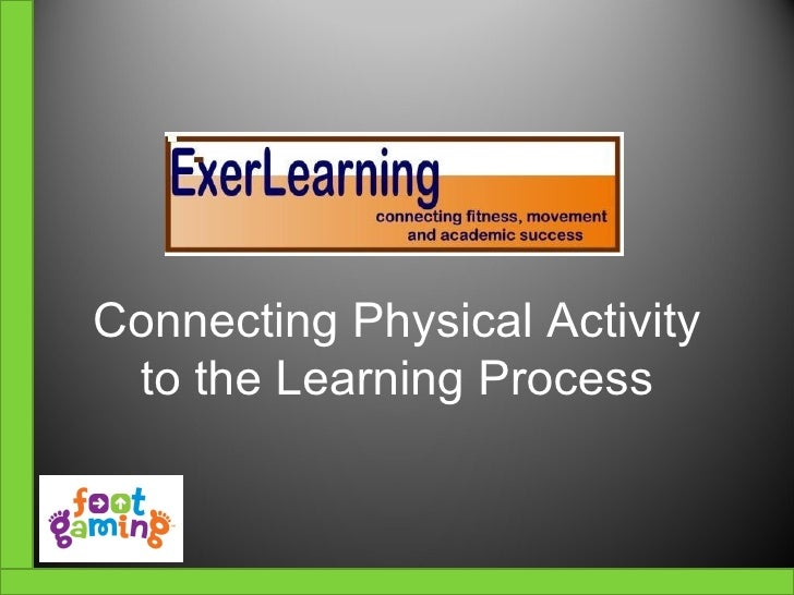 ExerLearning with Footgaming-Overview