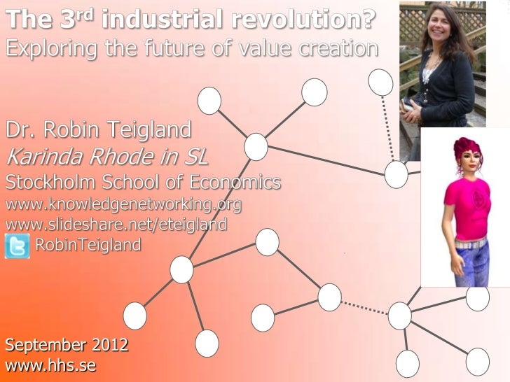 Teigland_Exploring future of value creation