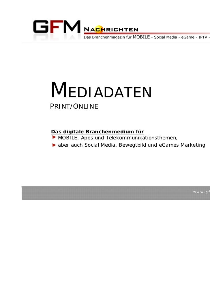 MEDIADATEN2011                                                                             Stand 02/2011MEDIADATENPRINT/O...