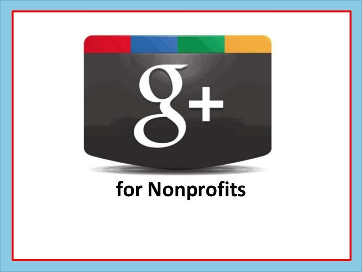 for Nonprofits