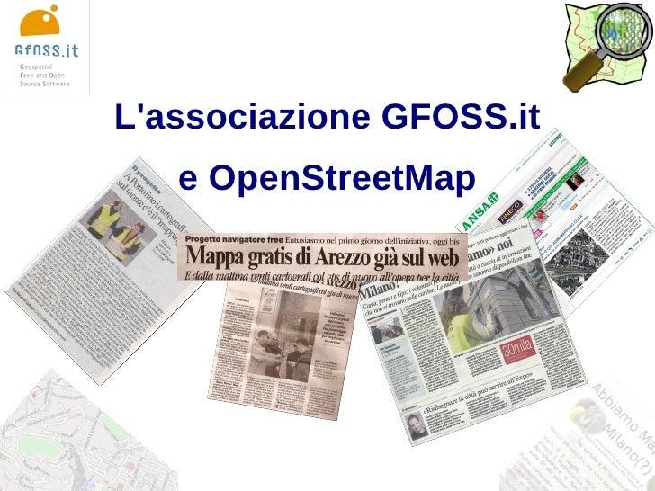 OSMit2009 GFOSS.it