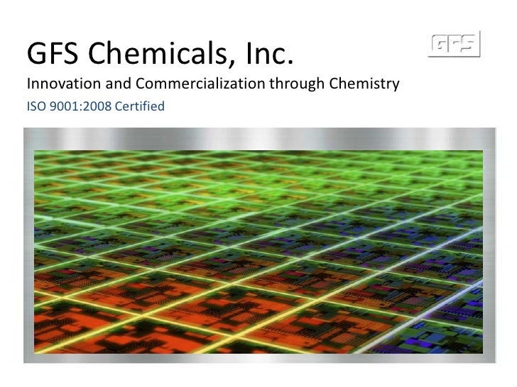 Gfs Chemicals Corporate Ppt Timed