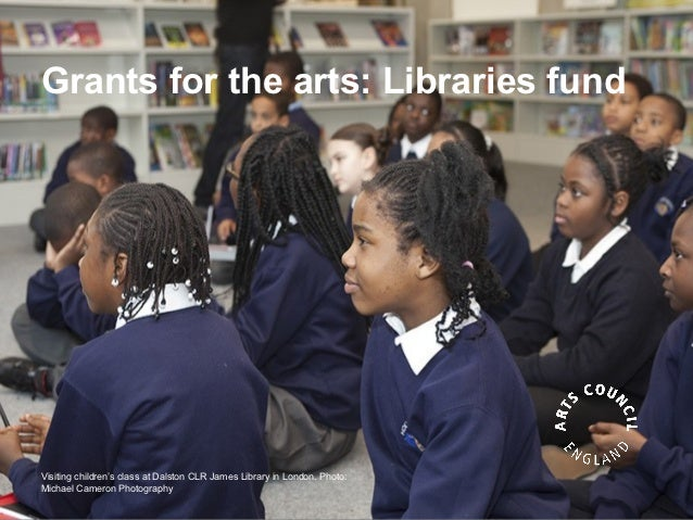 Grants for the arts: Libraries fundVisiting children's class at Dalston CLR James Library in London. Photo:Michael Cameron...