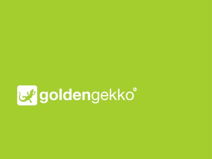 About Golden GekkoWho we are and what we do.                             2