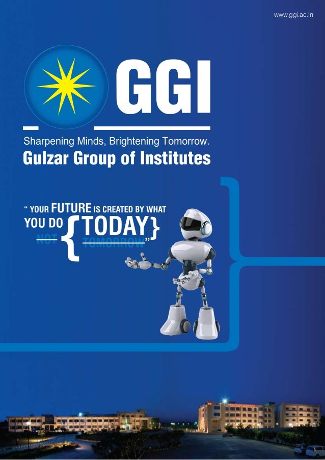 Gulzar Group of Institutes  broucher