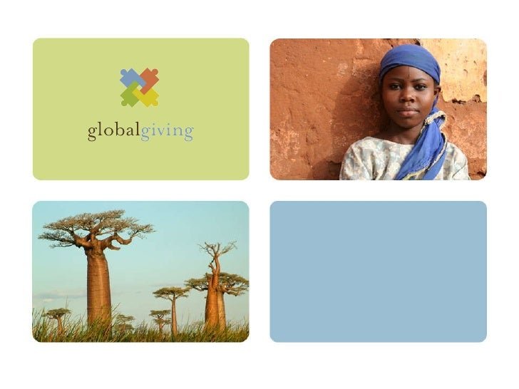 GlobalGiving - case study - presented at Skoll ISIRC
