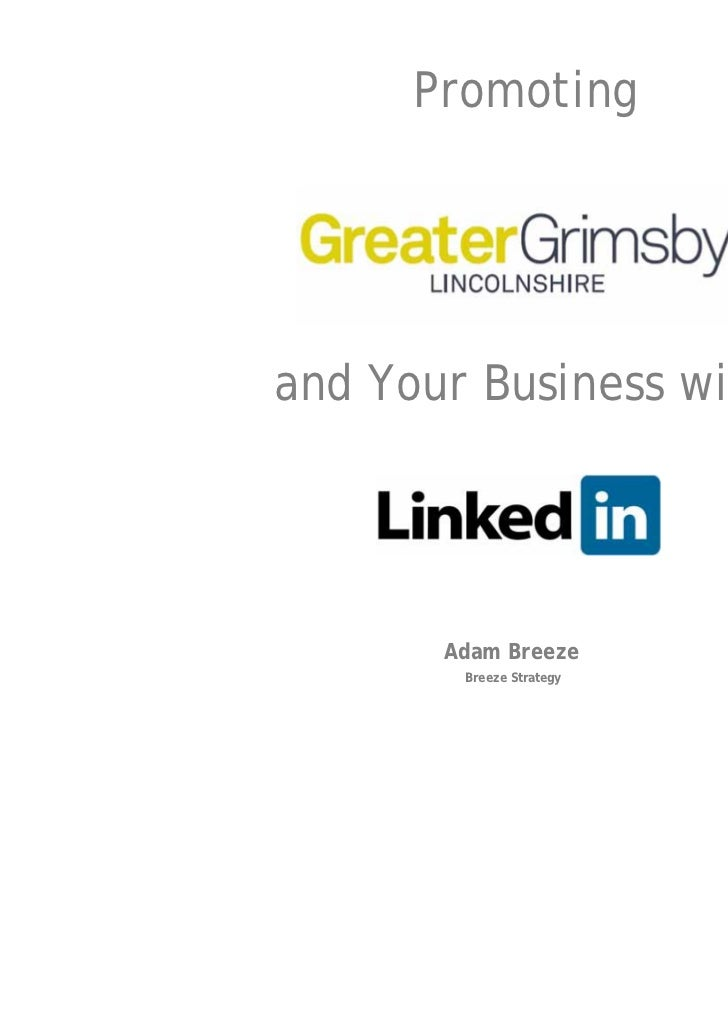 Promotingand Your Business with       Adam Breeze        Breeze Strategy