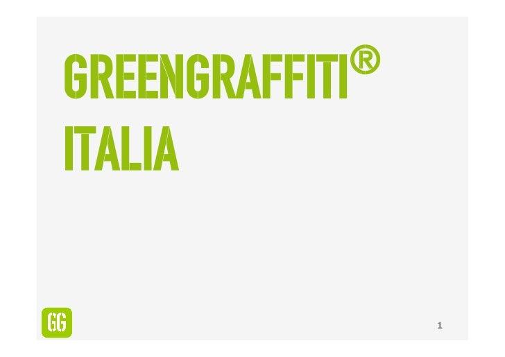 ®GreenGraffitiItalia                1