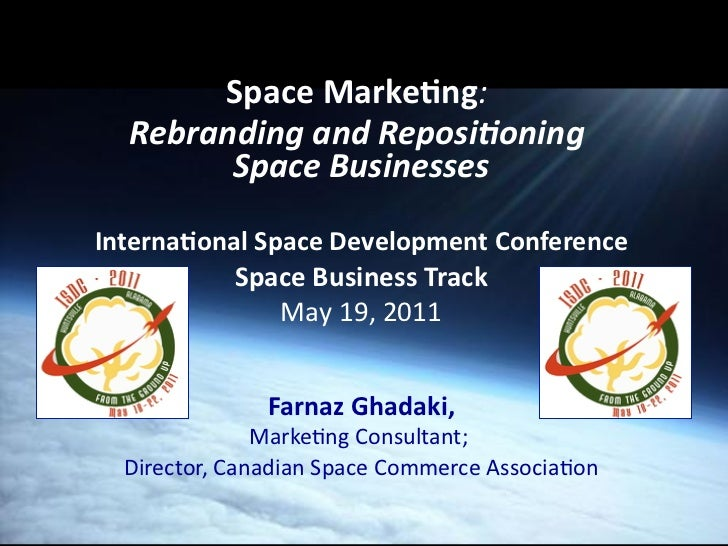 Space Marketing (isdc2011)