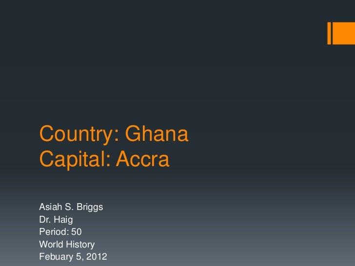 Ghana .