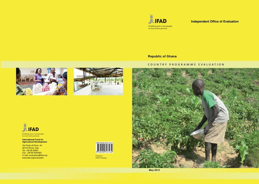 Independent Office of Evaluation                                               Enabling poor rural people                  ...