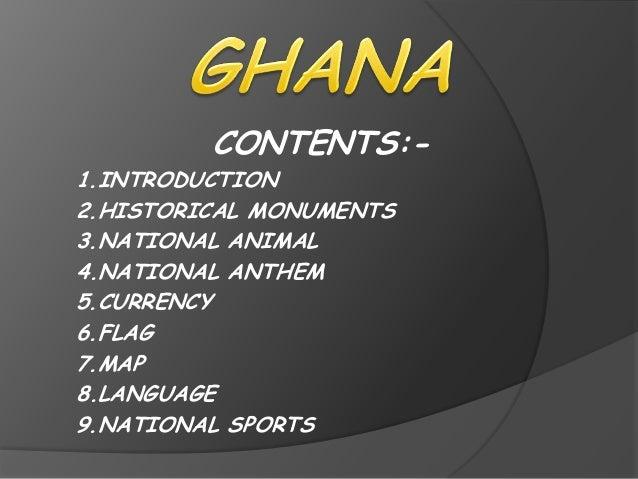 Open windows for Ghana
