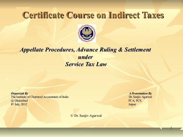 Ghaziabad service tax presentation  8-7-2012