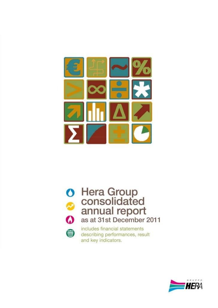 HeraGroupConsolidatedandSeparateFinancialStatements‐Financialyearended31December20110      Introduction...