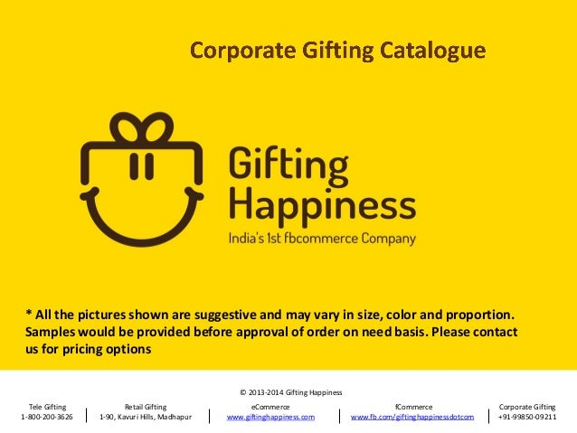 Gh corporate gifting catalogue