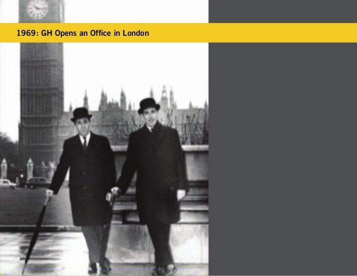 1969: GH Opens an Office in London
