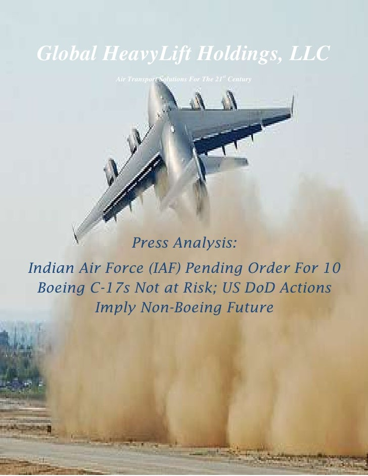 -457200-45720000<br />Global HeavyLift Holdings, LLC<br />Air Transport Solutions For The 21st Century<br />Press Analysis...