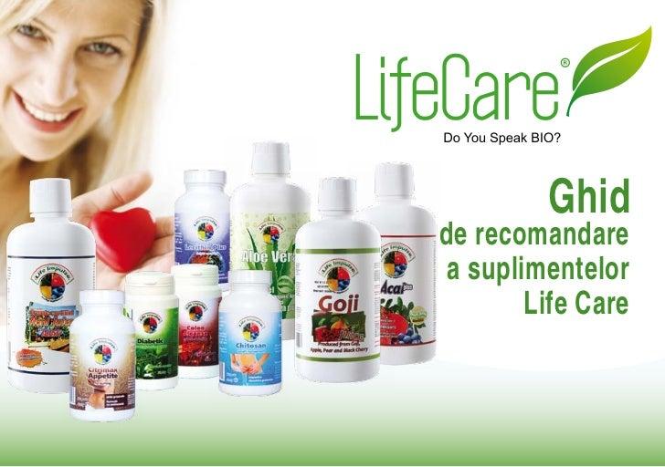 Ghidde recomandarea suplimentelor       Life Care