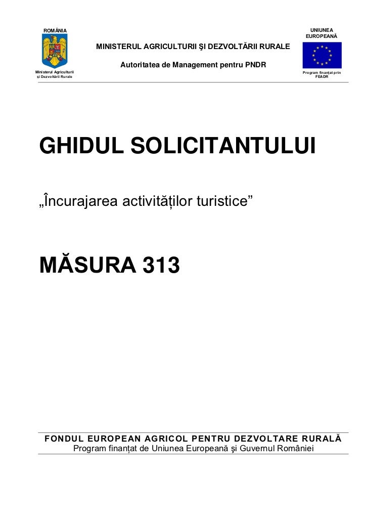 Ghidul solicitantului pentru_masura_313_-_versiunea_5_din_februarie_2011