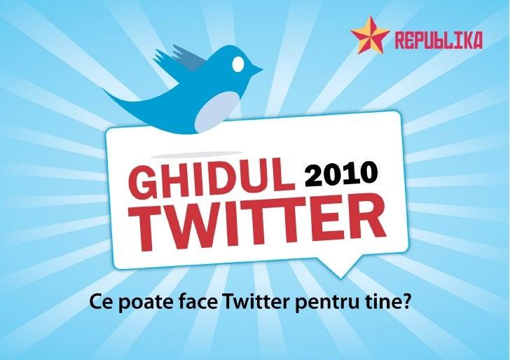 Ghidul Twitter 2010