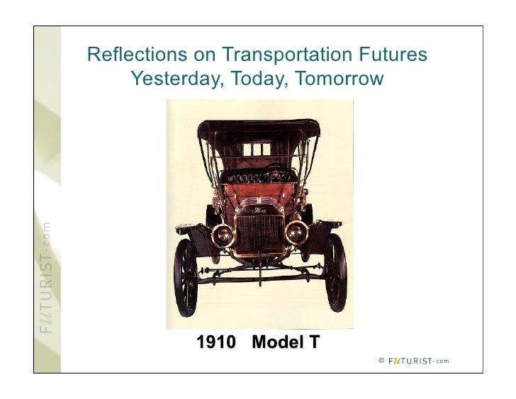 Transportation Today & Tommorow
