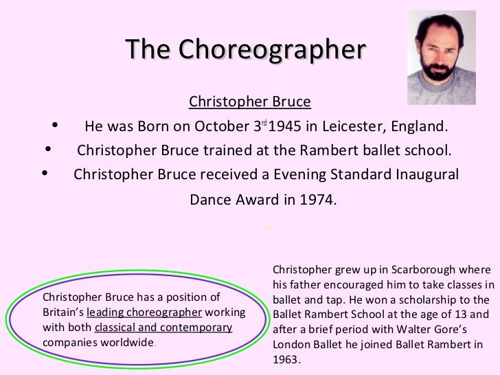 ghost dances christopher bruce essay examples