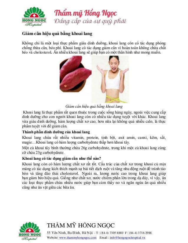THẨM MỸ HỒNG NGỌC 55 Yên Ninh, Ba Đình, Hà Nội - T : (84-4) 7305 8880 F : (84-4) 3716 2988 Website: www.thammyhongngoc.com...