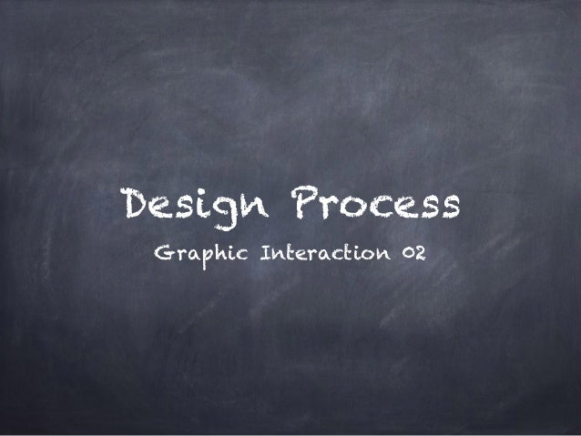 Design Process Graphic Interaction 02