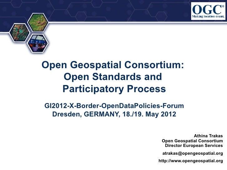 GI2012 trakas standards ogc