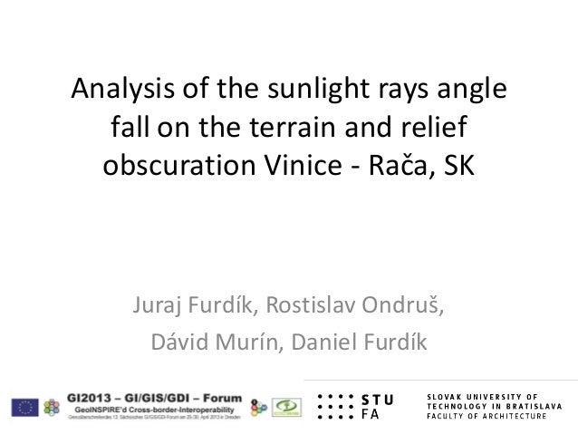 GI2013 ppt furdik_poster_sunlight_rays_angle